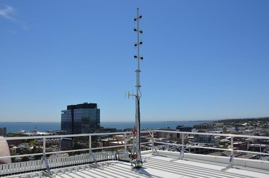 Ezypole Solar Panel Light Pole Melbourne